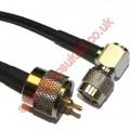 UHF PLUG TO TNC ELBOW PLUG