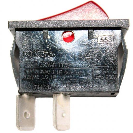 ARCOLECTRIC ENGLAND C1300AL Rocker Switch 16A 125//250VAC 2 Pins 2 Positions T125