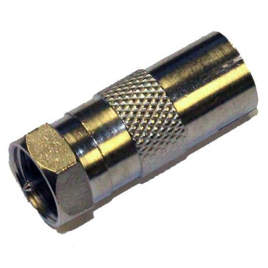 RF Adaptor Euro (TV) Jack - F Plug